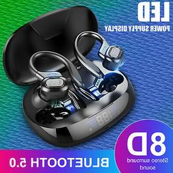 Bluetooth 5.0 Headset TWS Wireless Earbuds Earphones Stereo