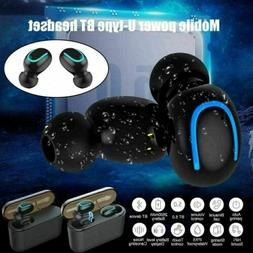 bluetooth 5 0 headset tws wireless earphones