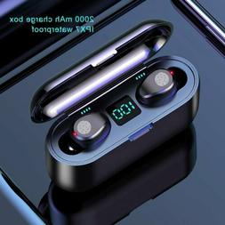 wireless bluetooth5 0 touch control earbuds in