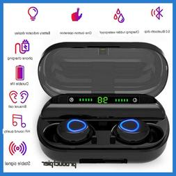 Bluetooth 5.0 Headset TWS Wireless Earphones Mini Earbuds St