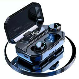 bluetooth 5.0 Headset TWS Wireless Earphones Twins Earbuds 9