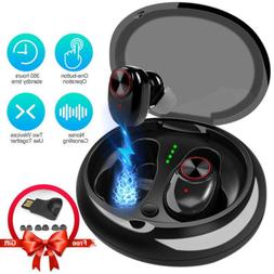 Bluetooth 5.0 Headset Wireless Headphone Earbud Earphone For