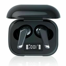 Bluetooth 5.0 Headset Wireless in Ear Earphones TWS Earbud D