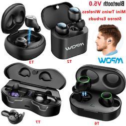 Mpow Bluetooth 5.0 TWS True Wireless Earbuds HD Stereo Sound