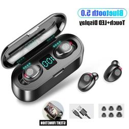TWS Mini Earbuds Wireless Bluetooth 5.0 Headset Earphones St
