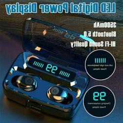 Mini TWS Earbuds Wireless Bluetooth 5.0 Headset Earphones St