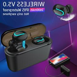 TWS Wireless 5.0 Headset Earbuds 5D Stereo In-Ear Headphones