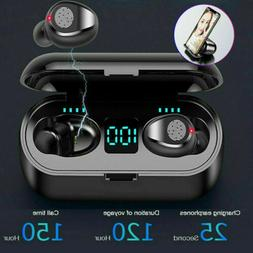 Bluetooth 5.0 Wireless Earbuds Headphone Headset Noise Cance