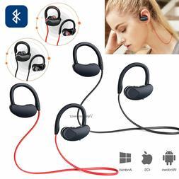 Bluetooth Earbud Stereo Sports Wireless Headphones In Ear He