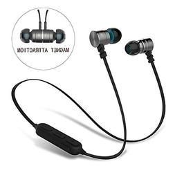Bluetooth Earbuds,V4.0 Magnetic Wireless Earbuds Bluetooth H