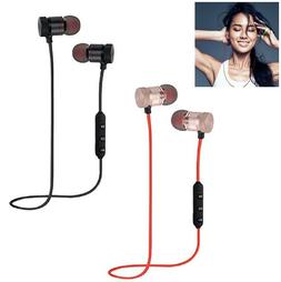 bluetooth earbuds earphone sports wireless headphones in