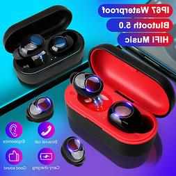 Bluetooth Earbuds Headset For Earpods iPhone Android Samsung