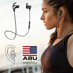 TaoTronics Bluetooth Earphone With Mic Headphone Wireless Ea