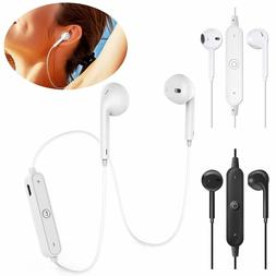 Wireless Earphones Earbuds with Mic & Volume Control for iPh