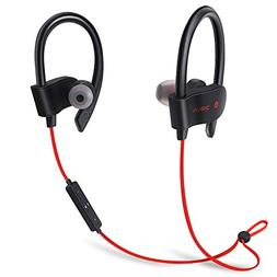 Bluetooth Headphone 4.1 Wireless Stereo with Microphone Spor