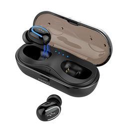 Wireless Earbuds Mic Bluetooth Headphones in-Ear Stereo Earp