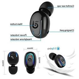 Bluetooth Headphone Wireless Sport Earbud 8 Hours Talking Ti