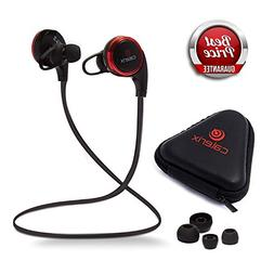 Bluetooth Headphones 4.1 Wireless Calerix, with Sweat Proof,