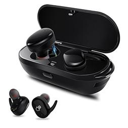 Bluetooth Headphones,Dveda True Wireless Stereo Earbuds Dual