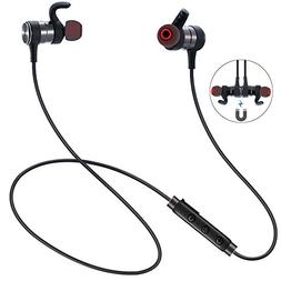 Bluetooth Headphones, ESTAVEL Wireless Sports Earphones with