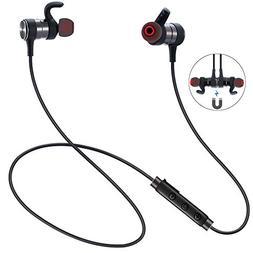 Bluetooth Headphones, ESTAVEL Wireless Sports Earphones with