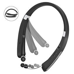 Bluetooth Headphones, Wireless Earphones Foldable Neckband S
