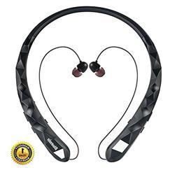 Bluetooth Headphones Bluenin Wireless Headphones Neckband Re