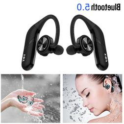 XGODY Bluetooth Headphones Stereo Headset Wireless Sports Ea