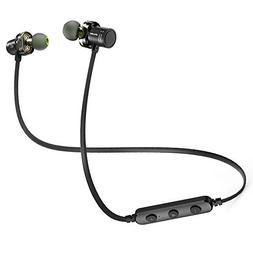 Bluetooth Headphones, AWEI V4.2 Best Dual Drivers Wireless S