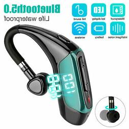 Wireless Headphone Headset Handsfree Earpiece Noise Reductio