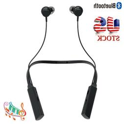 Bluetooth Headset Wireless Headphones Neckband Earbuds for S