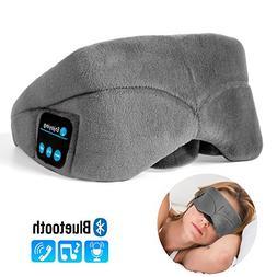 Bluetooth Sleep Eye Mask Headphone, Lavince Washable Wireles