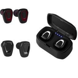 Bluetooth V5.0 Earbud Invisible Headphone Wireless Sweatproo