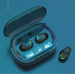 Bluetooth Wireless 5.0 TWS Stereo Earbuds Headphones Headset