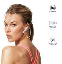 BLUETOOTH WIRELESS AIR EARBUDS Custom Headset Headphones wit