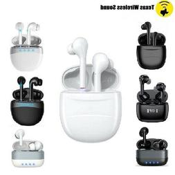 Bluetooth Wireless Earbuds Headsets Earphone For Samsung And