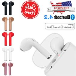 bluetooth wireless headset earbuds twins in ear