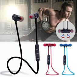 Bluetooth Wireless Stereo Sport Earphone Earbuds Headset Hea