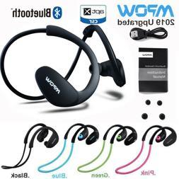 MPOW Bluetooth5.0/4.1 Sports Headset Wireless Earbuds Hi-Fi