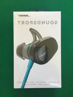 Bose SoundSport Wireless In-Ear Headphones - Aqua - Brand Ne