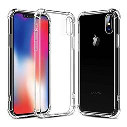 Airror Case for iPhone X Cases Clear,  Ultra Thin Clear Flex