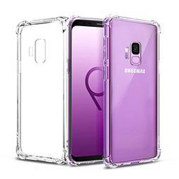 Airror Galaxy S9 Case Clear,  Ultra Thin Clear Soft TPU,  No