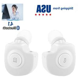 Double Bluetooth Earbuds Wireless Headphones for iPhone Sams