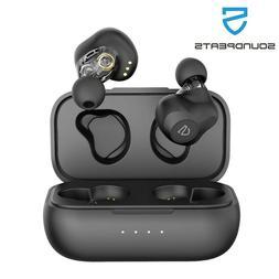 SoundPEATS Dual Dynamic Drivers True Wireless Earbuds Blueto