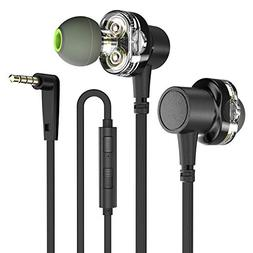 AWEI in-Ear Headphones Earbuds High Resolution Heavy Bass wi