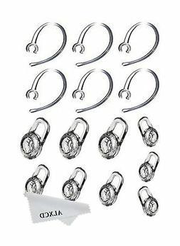 ALXCD Earbud Gel & Ear Hook for Plantronics, ALXCD 9 Pcs  Cl
