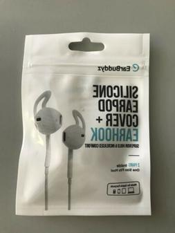 EarBuddyz 2.0 Apple Airpods and EarPods Covers and Hooks Att