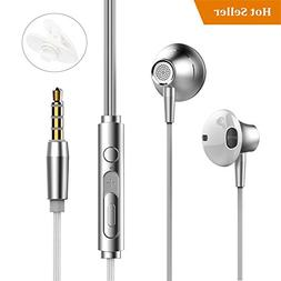 Earphones Earbuds in Ear Headphones with Microphone Bass Ste