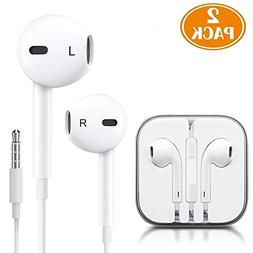 Premium Earphones/Earbuds/Headphones with Stereo Mic&Remote