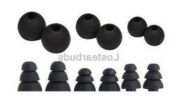 Eartips Replacement Earbud tips for Soundpeats QY7 Headphone